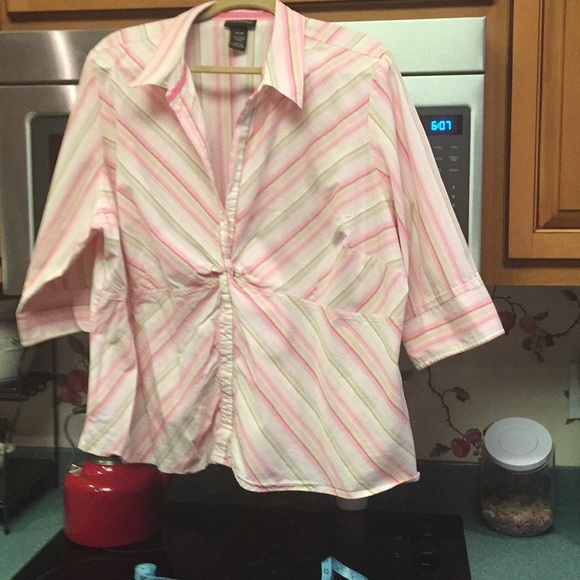 Lane Bryant Tops - Cotton woven blouse extremely great used condition